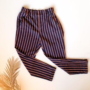 ZARA Trafaluc Collection Stripped Trousers